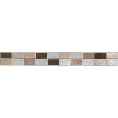 73044 alu braun bord - 73044 Alu-Mosaik Braun Beige