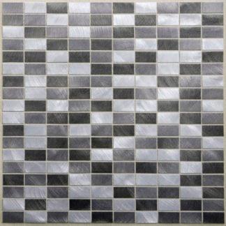 73046 324x324 - 73046 Alu Grau Anthrazit Aluminium Mosaik