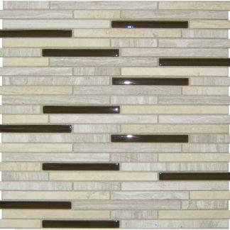 68400 Flora 324x324 - 70100 Travertino & Aqua Glas Mosaik