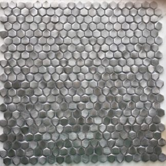 73052 Alu 6 eckig Grau 324x324 - 73050 Alu 6-eckig Gold Massiv Aluminium Mosaik