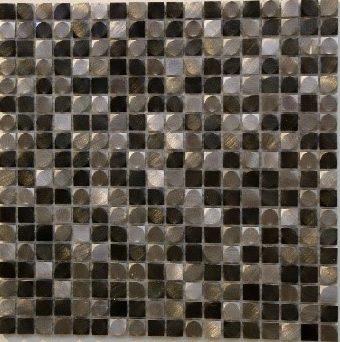 73054 Alu 3D Grau Mix e1532336478148 - 73054 Alu 3D Grau Mix Aluminium Mosaik