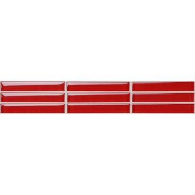 44020 rosso solo vetro bord - 44020 Rosso Solo Vetro